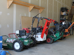 Assortment of Mowers
